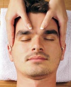 טיפול פנים לגבר